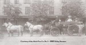1892 Silsby Steam Fire Engine
