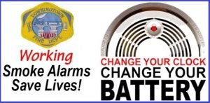 Change Your Clocks Change Your Batteries