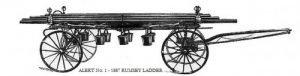 1887 Alert - Rumsey Ladder Wagon - First Apparatus