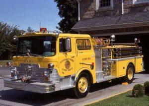 1969 Mack Pumper - First Yellow Apparatus