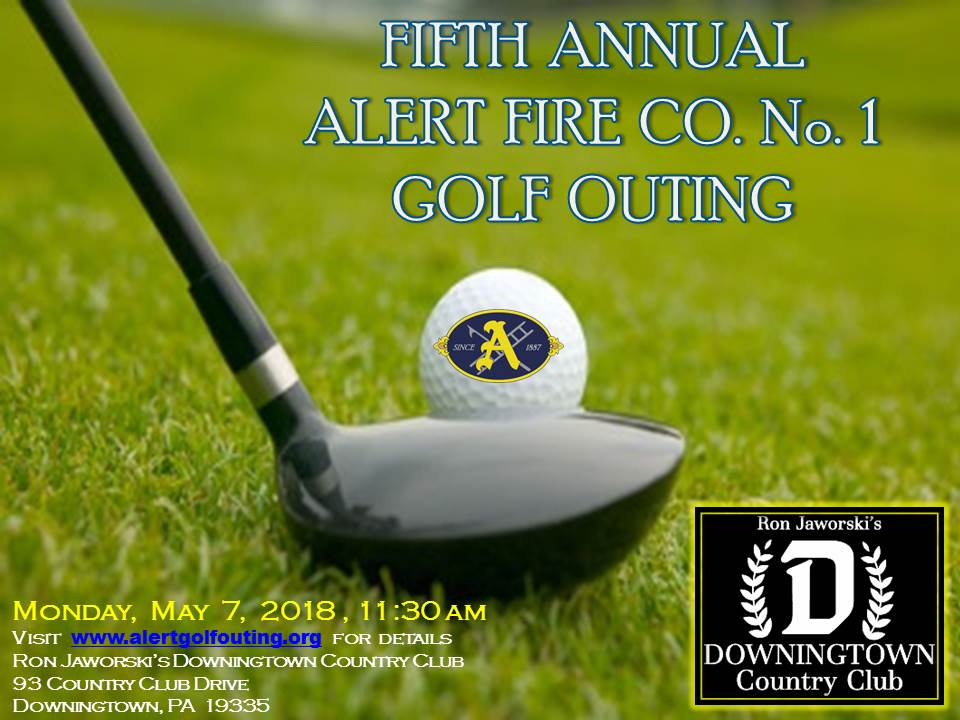 FIFTH ANNUAL ALERT GOLF OUTING ANNOUNCED FOR MAY 7, 2018