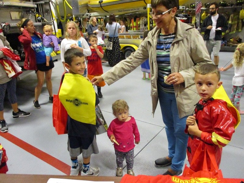 2017 FIRE PREVENTION SCHOOL VISITS & ANNUAL OPEN HOUSE