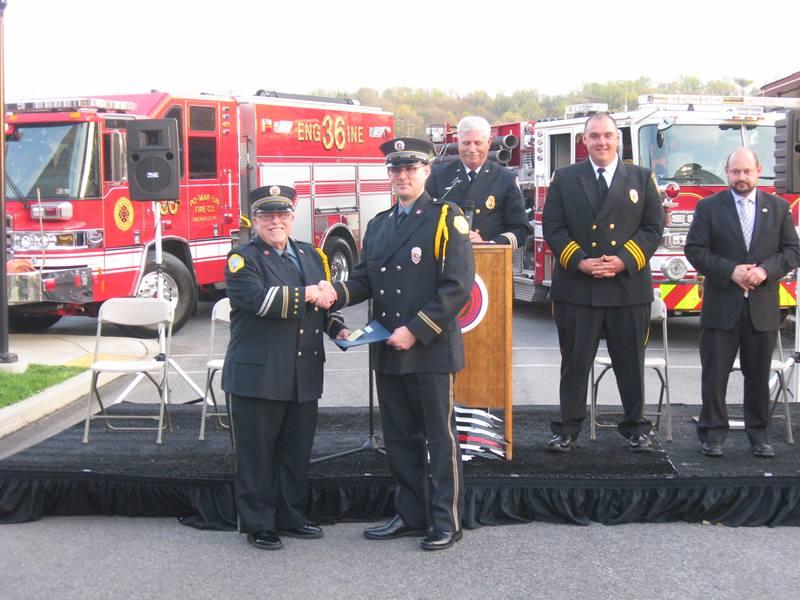 FIREFIGHTER AIKIN GRADUATES FIRE ACADEMY