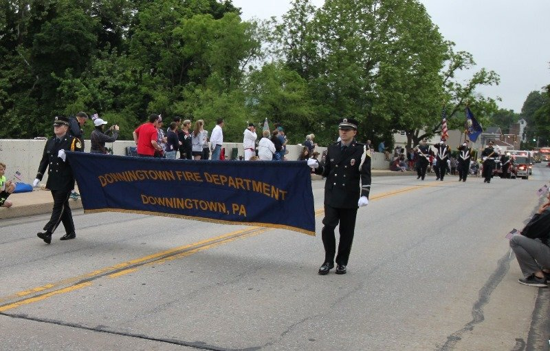 DFD HONORS OUR FALLEN AT THE ANNUAL DOWNINGTOWN MEMORIAL DAY PARADE