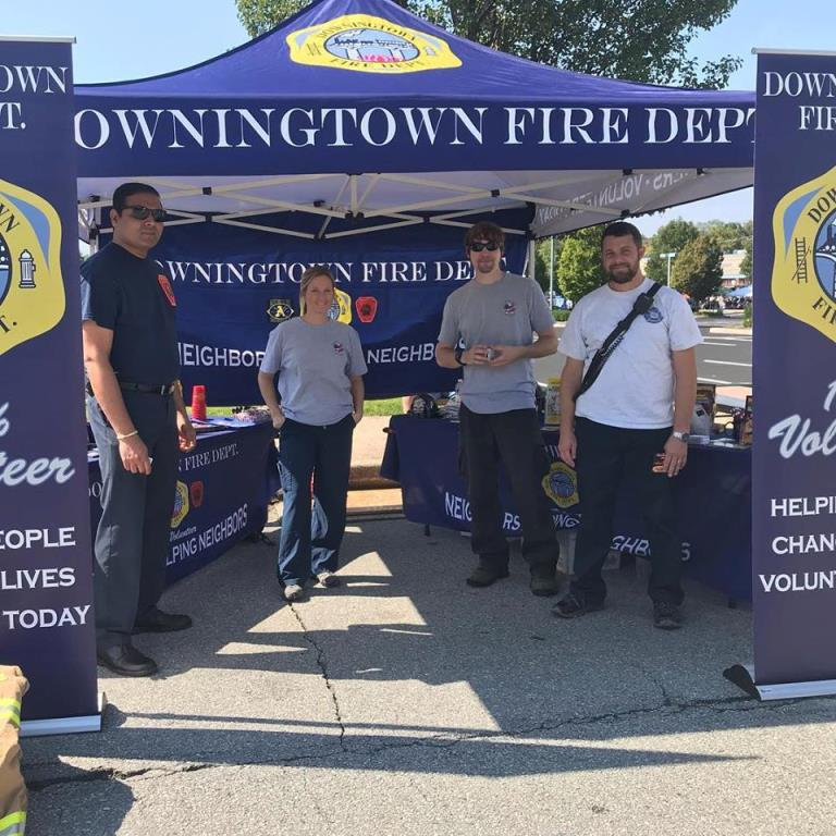 DOWNINGTOWN FALL FEST RECRUITING
