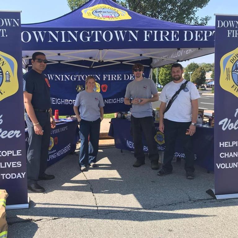 DOWNINGTOWN FALL FEST RECRUITING