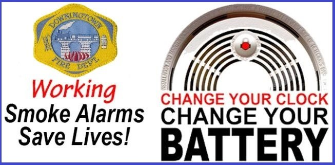 CHANGE YOUR CLOCKS – CHANGE YOUR BATTERIES